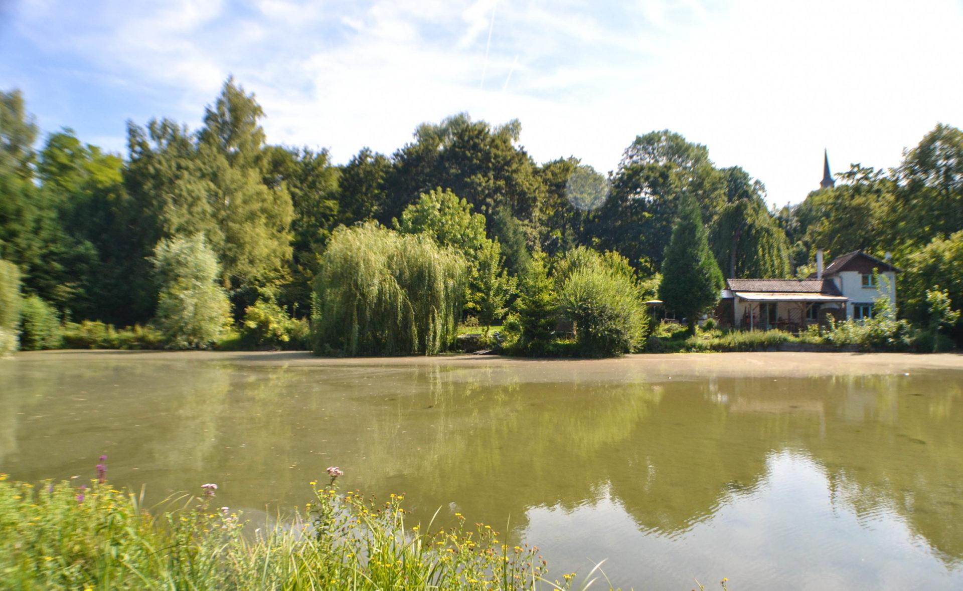 Maison avec étangs au coeur d'Amiens Métropole