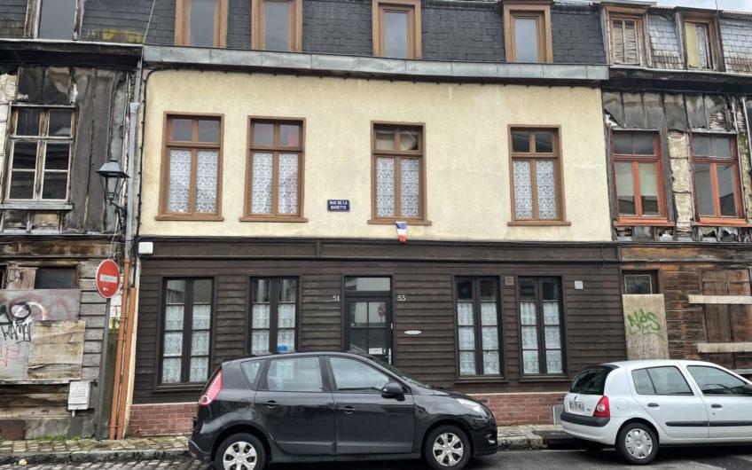 Maison  du 19eme siècle   quartier historique d'Amiens