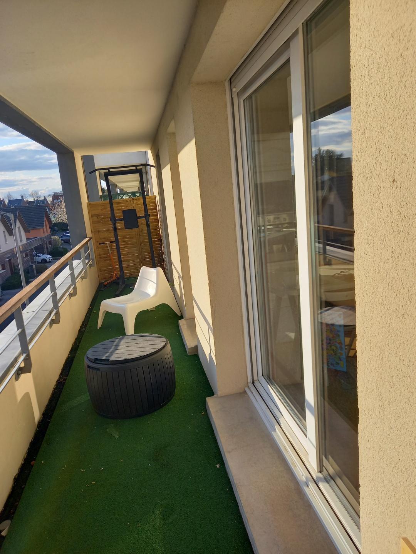 St Honoré, T3 avec balcon, garage et parking