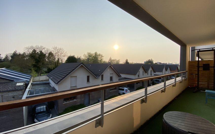 St Honoré, T3 avec balcon et garage