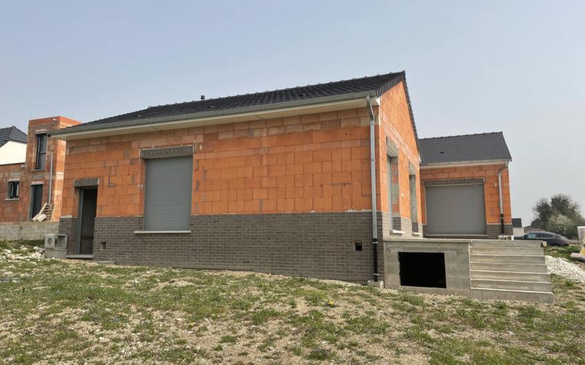 Maison de Plain-pied de 140m2 (A terminer)